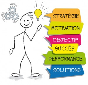 personnage bulles strategie