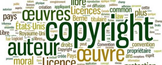 Service de gestion des notes de droits d'auteurs